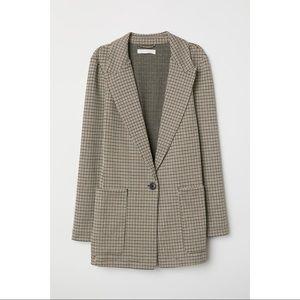 NWT H&M Blazer Jersey Jacket